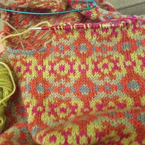 Annika Sue pattern by Susan Mills   Fair isle pattern, Fair isles ...