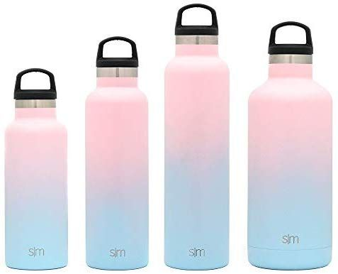 Amazon Com Simple Modern 32oz Ascent Water Bottle Stainless Steel Hydro Swell Flask W Handle Lid Metal Double Wall V Water Bottle Bottle Reusable Tumbler