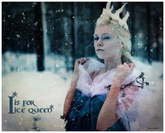 I Is For Ice Queen - Jean Hutter - Digital Views