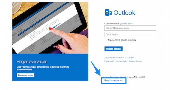 Outlook iniciar sesion - Hotmail