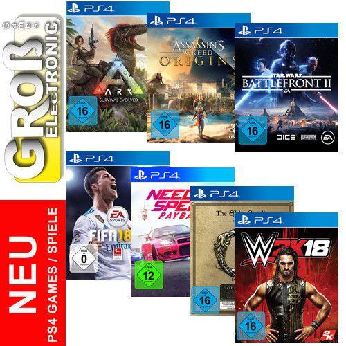 Sony Playstation 4 Ps 4 Ps4 Games Spiele Nach Wahl Wow Deutscher Handler Neu Playstation Spiele Ps4 Spiele
