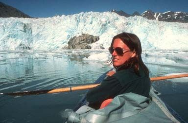 Kayaking is a very popular way to see Glacier Bay. To kayak to the face of a glacier is at least a five day trip. The glacier have retreat so much that it is two days each way from the drop off point to the face of the glacier.