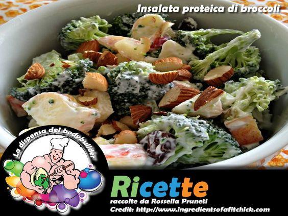 Insalata proteica di broccoli