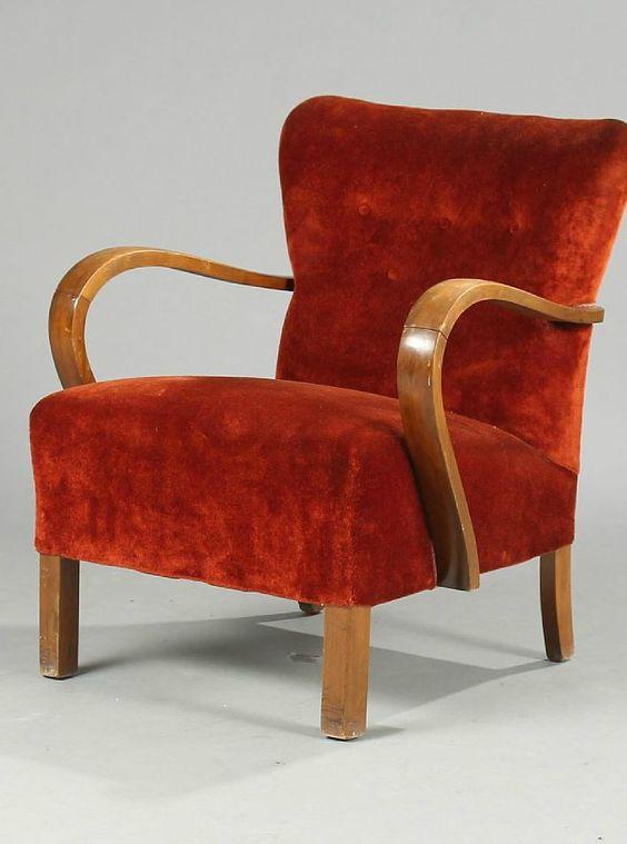 Deense vintage stoel