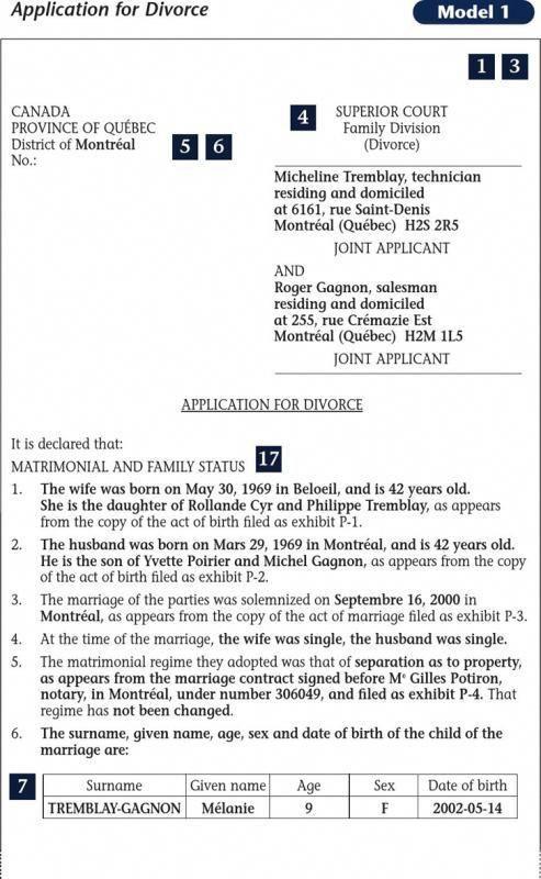 Sample Divorce Paper Divorcepapers Divorce Papers Divorce Application Divorce