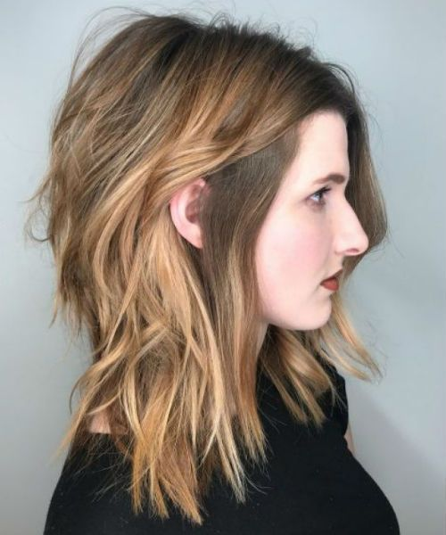 34 Of The Glorious Medium Shaggy Hairstyles For Women To Look Young And Trendy Long Shag Haircut Thick Hair Styles Shaggy Layered Haircut