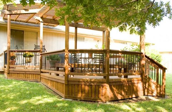 Deck Skirting Green Plants And Decks On Pinterest