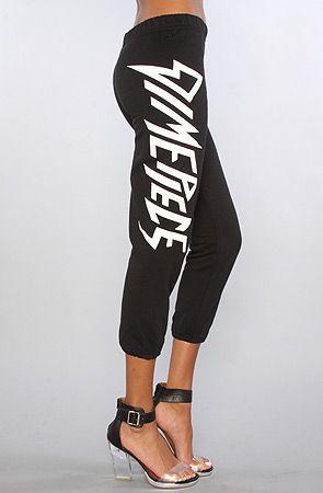 The Dimepiece Stylized Logo Sweatpants by Dimepiece Designs