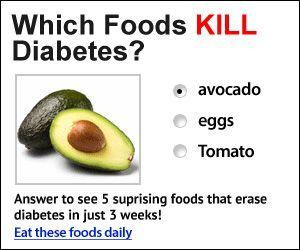 Reverse Diabetes! Which foods kill diabetes? Foods that reverse diabetes?