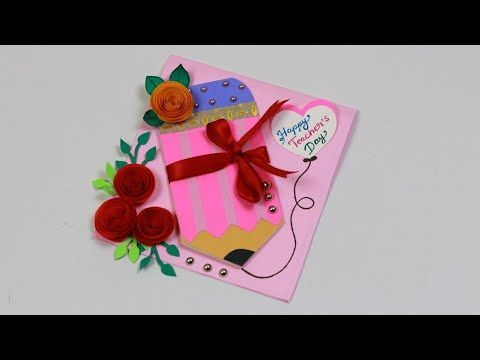 Teacher S Day Pop Up Card Teacher S Day Card For Special Teacher