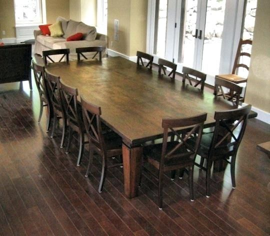 12 Person Dining Room Table Set Large Dining Room Table Square