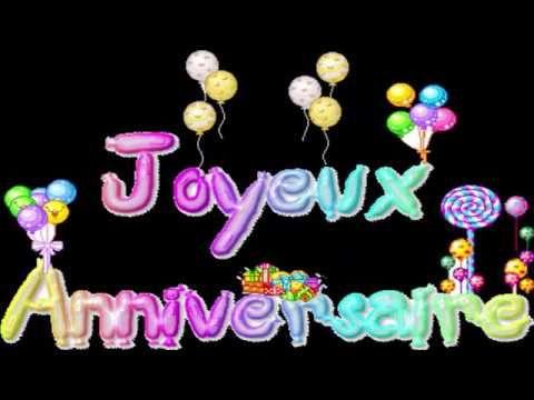 Chanson D Anniversaire Joyeux Anniversaire Youtube Chanson Pour Anniversaire Anniversaire Joyeux Anniversaire Fille