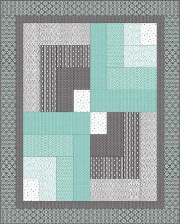 Modern Quilt Patterns Free Download : Red Rooster Quilts: Shop Category: Patterns - Download for FREE Product: Mint Condition Bars ...