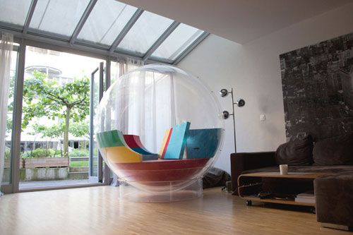A Transparent Bubble You Can Live In: Cocoon 1 by Micasa LAB Photo