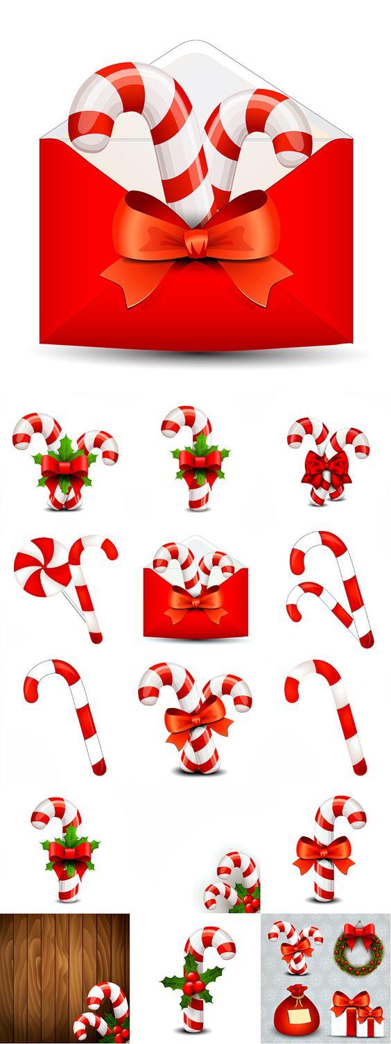 Блог Колибри: Christmas Candy Cane 2