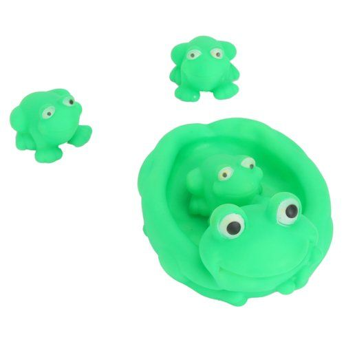 4 Pack Baby Bath Toy Scoop Green Frog Family « Game Searches