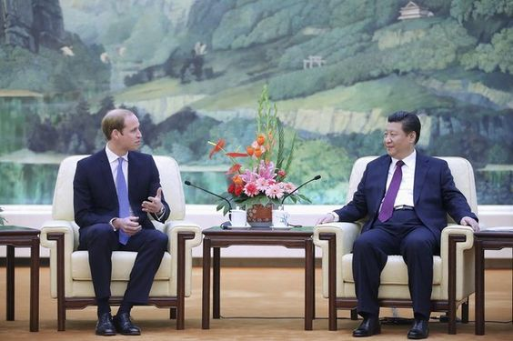 Prince William: China Day 1: Prince William meets on his first day in China President Xi Jinping in Beijing.