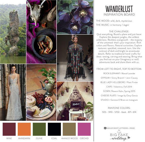 #TheBigFakeWedding | Wanderlust