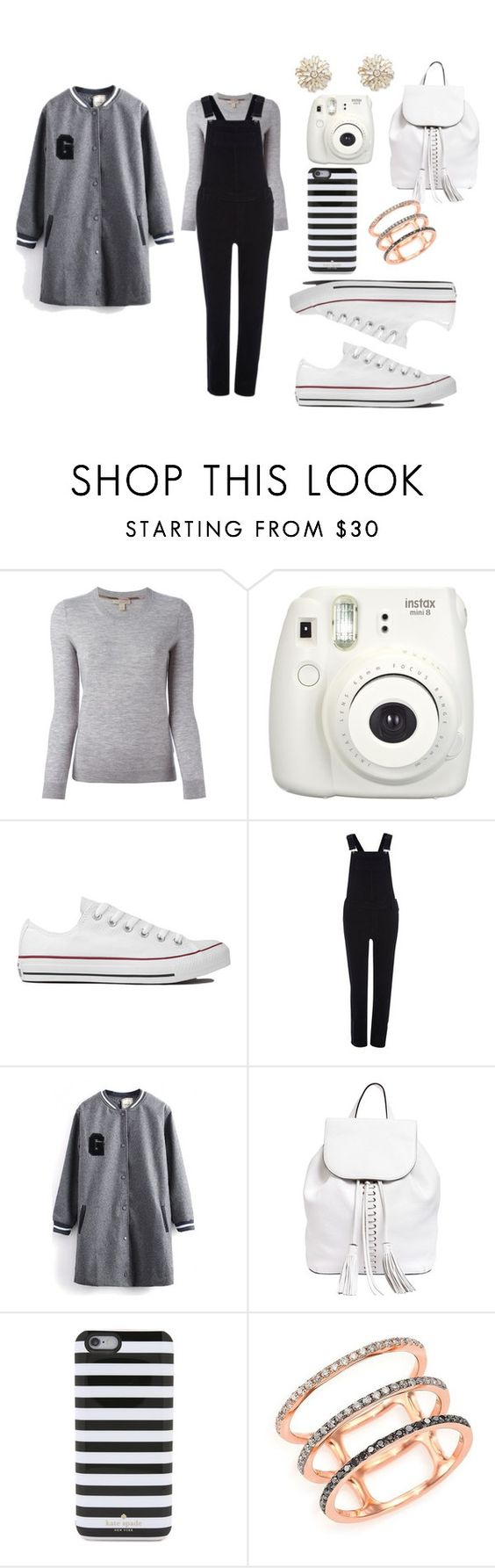"""""""#221"""" by jel1ica ❤ liked on Polyvore featuring Burberry, Converse, River Island, Rebecca Minkoff, Kate Spade, EF Collection, Sole Society, women's clothing, women's fashion and women"""
