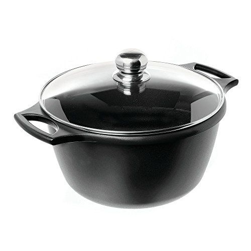 7 1 2 Qt Non Stick Sauce Pan With Lid Cast Aluminum Saucepan Pan Aluminum