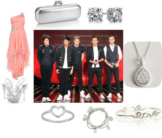 """""""Nick Choice Awards w/ 1D :)"""" by stanford-girl ❤ liked on Polyvore"""
