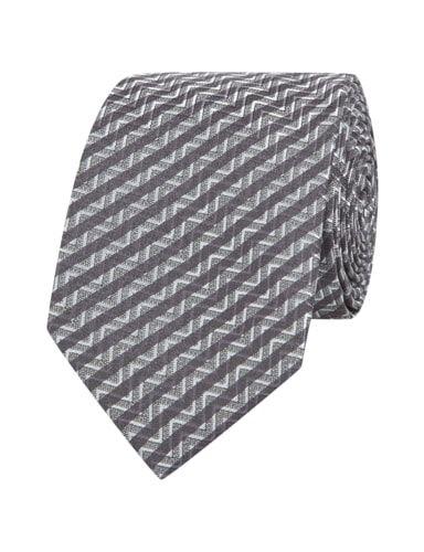 G-O-L- Krawatte mit All-Over-Muster in Grau / Schwarz online kaufen (9194644)   P&C Online Shop