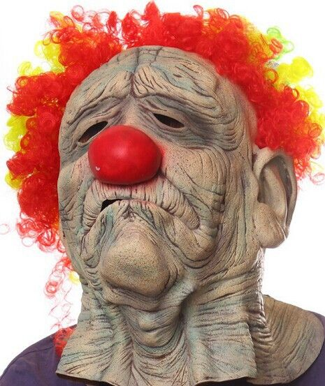 2016 new Halloween masks COS role-playing clown latex mask party