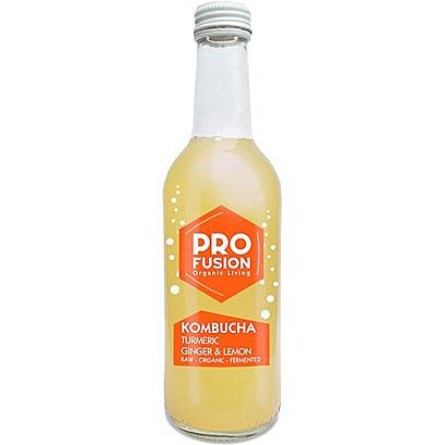 Profusion Turmeric, Ginger & Lemon Kombucha (330ml)