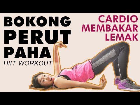 Latihan Perut Bokong Dan Paha Dalam 5 Menit Latihan Bakar Lemak Hiit Workout Youtube Hiit Latihan Perut Workout