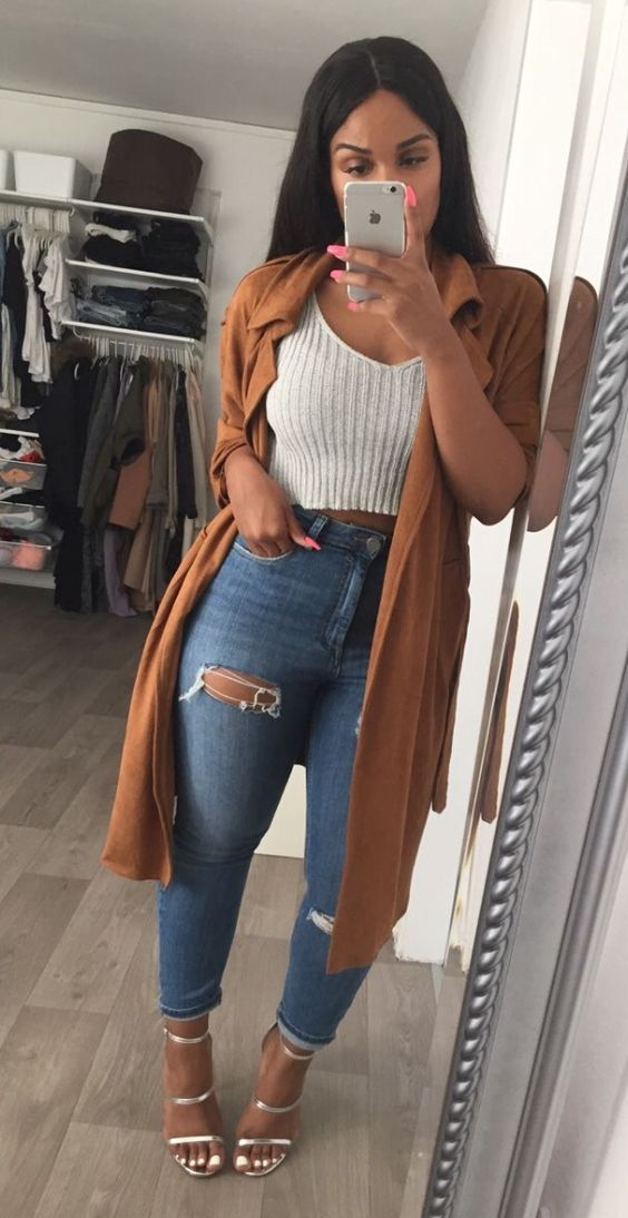 Love the jeans and jacket                                                       …