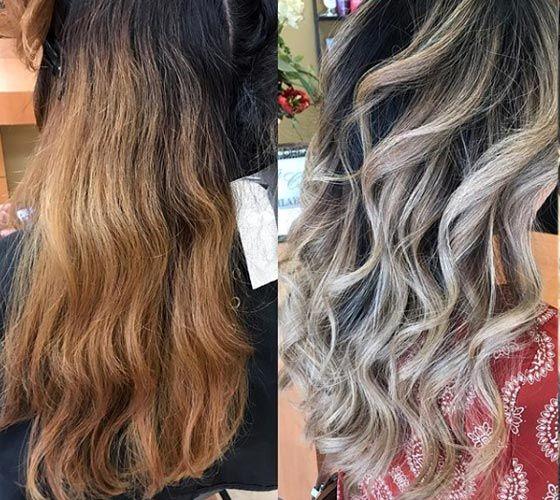 Will Dark Ash Blonde Cover Orange Brassy Hair Two Ways Of Toning Your Hair Brassy Blonde Hair Tone Orange Hair Orange To Blonde Hair