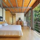 Understatement:  This looks like a pretty nice place to wake.  Tree House by Van Der Merwe Miszewski Architects.