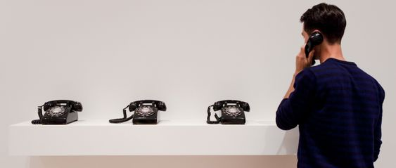 MoMA's Dial-a-Poem!: Mobile Phones, Modern Art, Arts, Art S Dial, Exhibition, Telephone