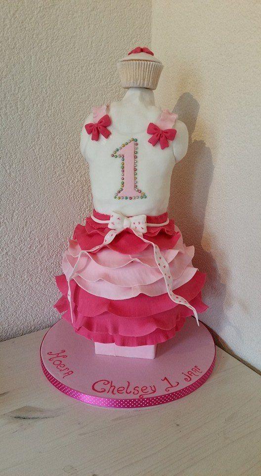 3D dress cake / jurk taart