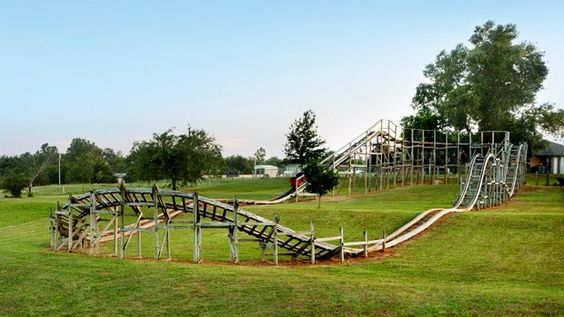 Big Roller Coaster In Backyard : Backyards, Roller coasters and Rollers on Pinterest
