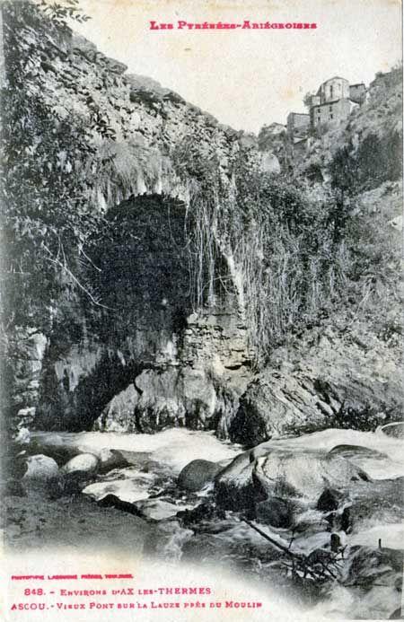 Vieux ponts de l'Ariège - Pont sur la Lauze