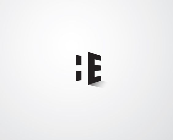 Logos negative space and personal logo on pinterest for Negative space design