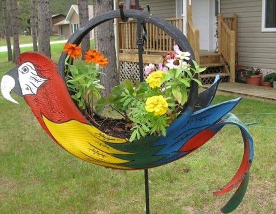 7 DIY Garden Projects: Anyone Can Do Easily | DIY Recycled: