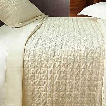 Luxurious Pure Cotton Textured Bedspread
