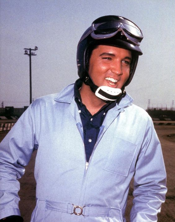 """By February of 1966 Elvis was back in California and began production on his 22nd motion picture, """"Spinout,"""" co-starring Shelley Fabares. Principal photography began on February 21, 1966 and finished on April 8, 1966. Elvis played Mike McCoy, the lead singer for a traveling band who is also a part-time race car driver, enjoys his carefree single life, which is threatened by three different women who seek to marry him. Watch the movie trailer on https://www.youtube.com/watch?v=TDPDKp_mMHs"""