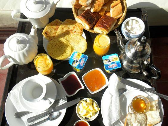 Breakfast, Essaouira, Morocco