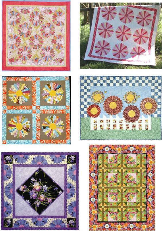 Dresden Quilt Patterns Free : Free pattern day - Quilt Inspiration - Dresden Plates Free Patterns Pinterest Free pattern ...