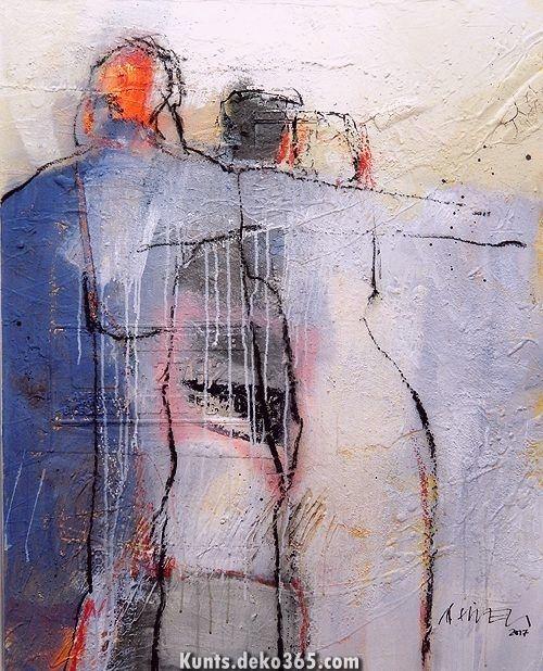 Painting Abstract Figures Abstrakte Figuren Malen Youtube