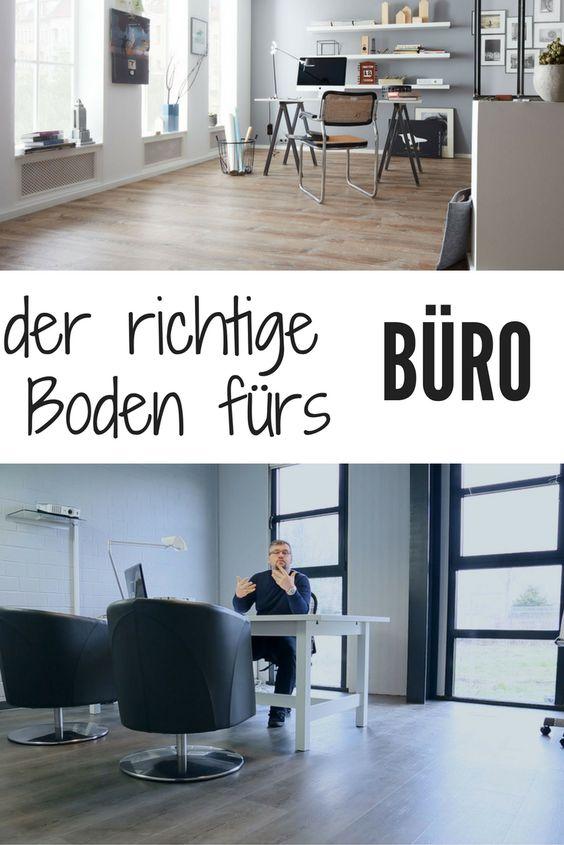 Boden fürs Büro: welchen soll ich nehmen ?  www.planeo.de