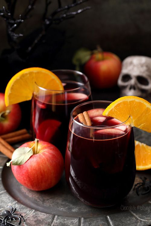 Red Apple Cider Sangria   Really nice recipes. Every hour.   Show me what you cooked!