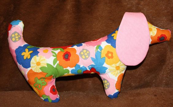 Spring the Kayleighkins Stuffed Dog by fluffygirlboutique on Etsy, $14.99