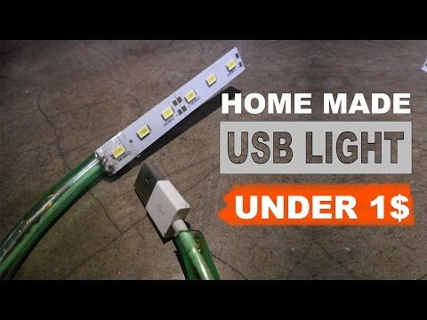 How To Make A Powerful Usb Led Light Diy Led Light Usb Led