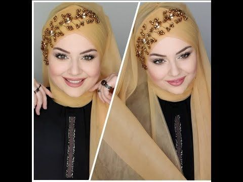 Turkishhijab Tutorialhijab لفات حجاب تركية جديدة للعرائس و الأفراح والمناسبات Youtube Hijab Style Tutorial Hijab Tutorial Style