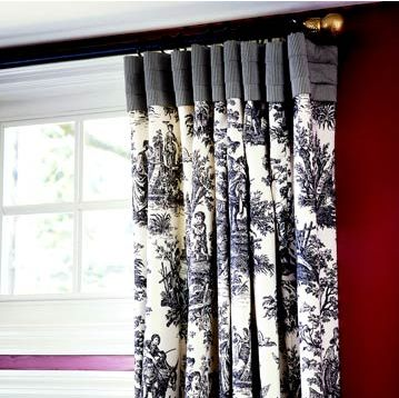 pleated top drapes