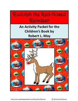 Christmas Activities: Rudolph the Red-Nosed Reindeer Christmas ...